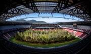 تصاویر | استادیوم زیبای فوتبال، جنگل شد!