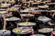مائدة النذور الحسينية في إيران تتسع للفقير والغني/صور