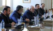 مدیر آژانس با ظریف دیدار کرد/ عکس