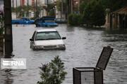تصاویر | انزلی در آب باران غرق شد