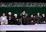 عکس | روسای قدیم و جدید قوهقضائیه در کنار رهبرانقلاب