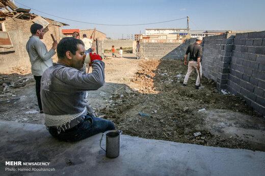 اردوی جهادی طلاب غیر ایرانی در آق قلا