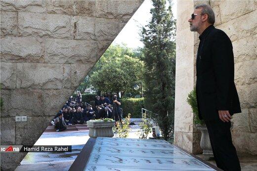 مراسم عزاداری سید و سالار شهیدان در جوار مقبره شهدای گمنام مجلس شورای اسلامی