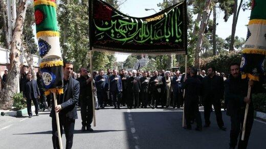 عزاداری حسینی در نهاد ریاست جمهوری با حضور روحانی +عکس