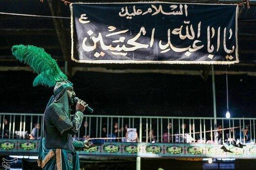 آیین تعزیهخوانی در روستای حصار قزوین