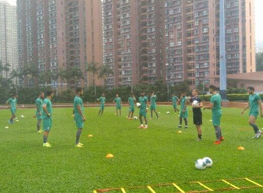 فیلم | آخرین تمرین تیم ملی پیش از دیدار با هنگ کنگ