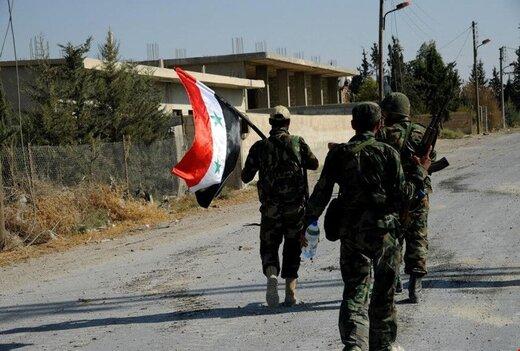 حمله پهپادی تروریستها در سوریه ناکام ماند