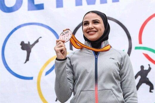 سارا بهمنیار المپیکی شد