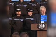 فیلم | اعتراض جنجالی افسر انگلیسی به بوریس جانسون