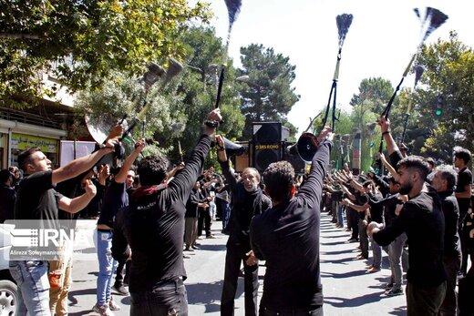 مراسم عزاداری روز تاسوعای حسینی(ع) در بروجرد