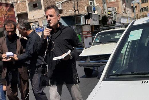 فیلم | مداحی انصاریفرد مدیرعامل پرسپولیس در ظهر تاسوعا