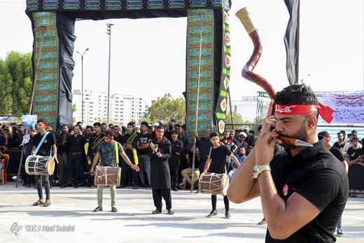 مراسم عزاداری تاسوعای حسینی در بندر عباس