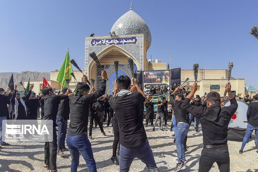 مراسم عزاداری روز تاسوعای حسینی(ع) در لامرد