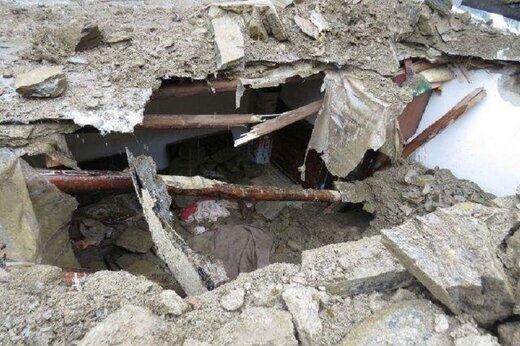 سقف یک خانه تاریخی در چهارباغ اصفهان فروریخت و ۲ نفر زیر آوار ماندند
