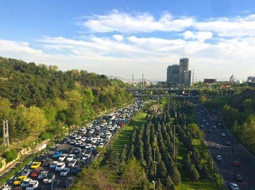 هوای تهران در چه شرایطی قرار دارد؟