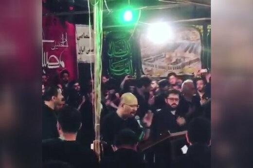 فیلم | مداحی صداپیشه جناب خان در هیئت خوزستانیها