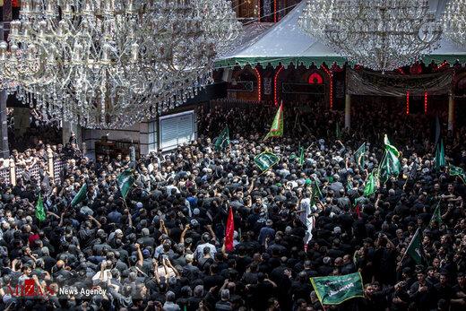 مراسم عزاداری عاشورای حسینی در کربلا