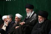 تصاویر | جذب حداکثری یعنی این مجلس عزاداری با حضور رهبر انقلاب