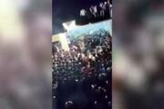 فیلم | فروریختن دیوار بر سر عزاداران حسینی در هند