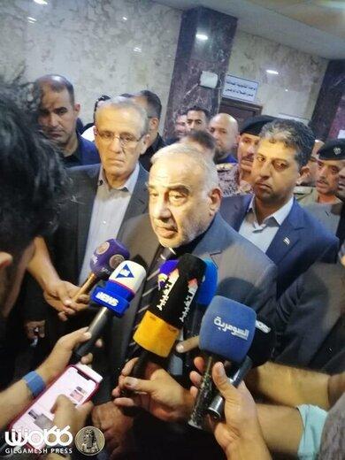 ورود عبدالمهدی به کربلا/ اعلام سه روز عزای عمومی