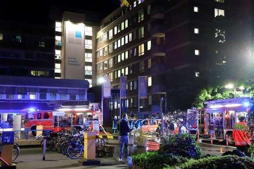 بیمارستانی در آلمان در آتش سوخت
