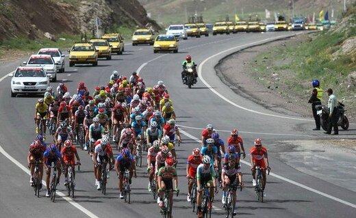 پوشش زنده سی و چهارمین دوره تور دوچرخهسواری بینالمللی ایران ـ آذربایجان