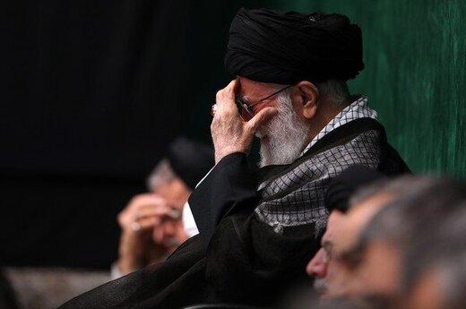 آخرین شب مراسم عزاداری اباعبدالله الحسین (ع) در حضور رهبر انقلاب