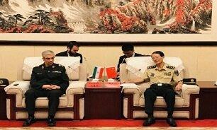 در دیدار سرلشکر باقری و رئیس دانشگاه عالی دفاع چین چه گذشت؟