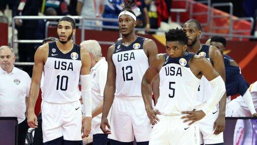 شکست دوباره آمریکا در جامجهانی بسکتبال