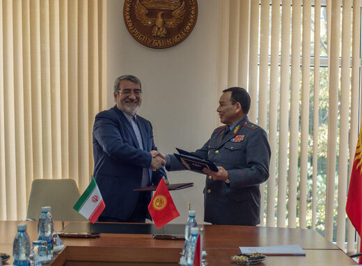 Iran, Kyrgyzstan sign agreement on security cooperation