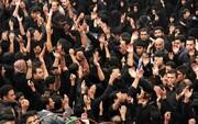 آئین سیزدهمین روز محرم در یزد برگزار شد