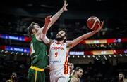صعود تاریخی اسپانیا به فینال جام جهانی بسکتبال