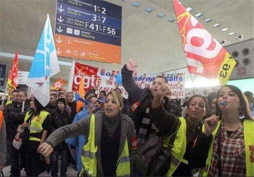پاریس فلج شد؛ اعتصاب در حمل و نقل عمومی عروس شهرهای جهان
