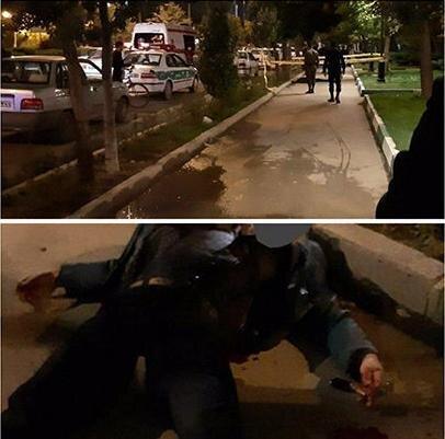 قتل هولناک مرد اردبیلی در مقابل دانشگاه (+۱۶)
