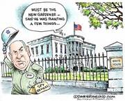 باغبان جدید کاخ سفید را ببینید!