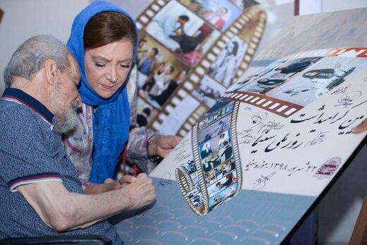 تصاویر هنرمندان در مراسم ویژه روز ملی سینما
