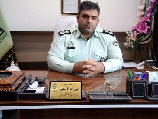 دستگیری سارق احشام با ۱۱ فقره سرقت در دورود