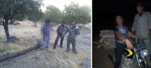 2 نفر متخلف محیط زیست در چهارمحال و بختیاری دستگیر شدند