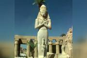 فیلم | بازسازی آرامگاهها و معابد باستانی مصر در منطقه الاقصر