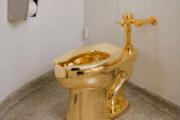 فیلم | توالت تمام طلای ۵ میلیون دلاری «آمریکا» دزدیده شد