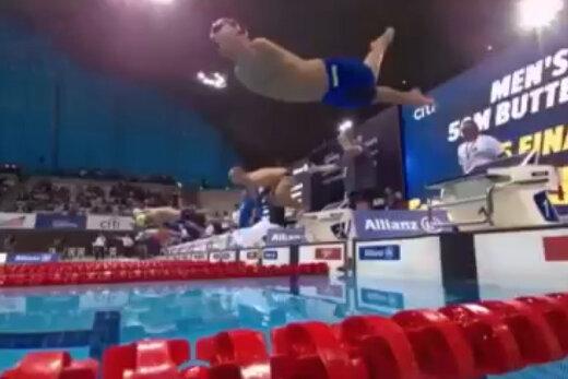 فیلم   تلاش شناگر پارالمپیکی برای کسب سهمیه المپیک توکیو