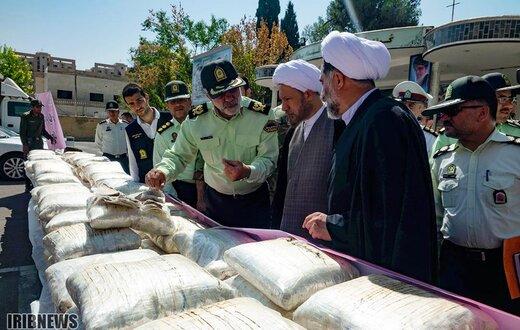 کشفیات 5 ماهه فرماندهی نیروی انتظامی استان فارس در سال 98
