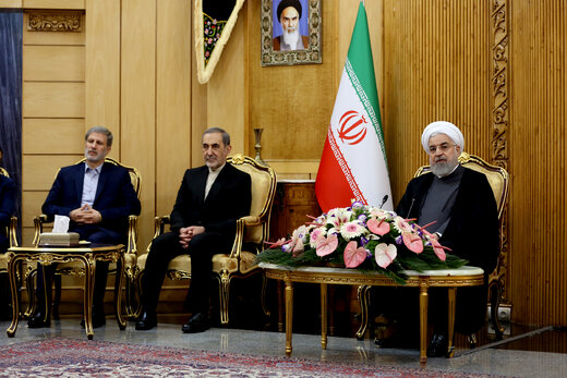 President Rouhani terms US' presence in Syria as illegal, interventionist