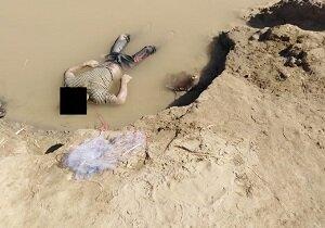 جسد مردی ۲۳ ساله در رودخانه بستان کشف شد/ عکس
