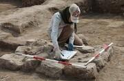 تصاویر | کشف آثار باستانی از زیر «جمعه مسجد» اردبیل