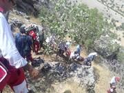 جزئیات نجات دو کوهنورد در ارتفاعات سولقان