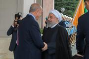 تصاویر | دیدار روحانی و اردوغان در آنکارا