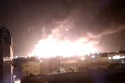 فیلم | ضربه سنگین پهپادهای یمنی به عربستان، و پاتریوتهای ناکارآمد