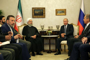 Iran-Russia ties strategic: President Rouhani