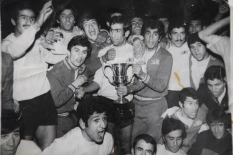 تصویری از تیمی که اولین قهرمانی آسیا را برای ایران گرفت